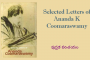 Selected letters of Ananda K Coomaraswamy – పుస్తక పరిచయం